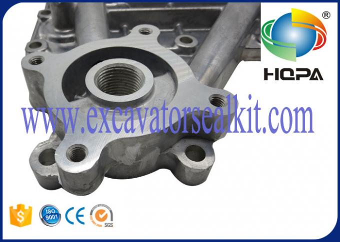 Billet Aluminum Excavator Engine Parts Assembly 6207-61-5210 , High Precision
