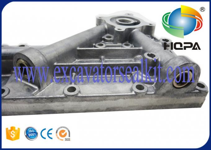 High Precision Excavator Engine Parts , Komatsu 6D95 Oil Cooler