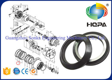 Eco Friendly Durable Rubber Oil Seal FRP-710-17 With Smooth Surface Treatment