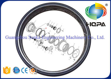 Heat Resistant Floating Oil Seal Dustproof For Excavator Engine Parts , ISO9001 Listed