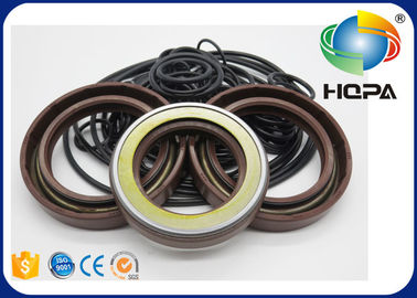 China HPV102 HPV118 Pump Seal Kit for Hitachi ZAXIS200-3 Main Pump Black + Brown supplier