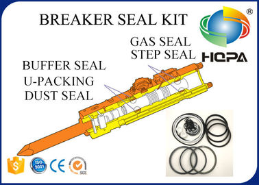 China Blue + White + Black Hydraulic Hammer Seal Kit For Breaker Repair Parts Standard Size supplier