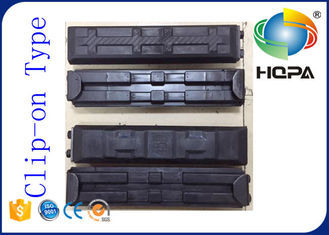 Spare Parts Excavator Rubber Pads / All Brand Excavator Track Pads 450MM