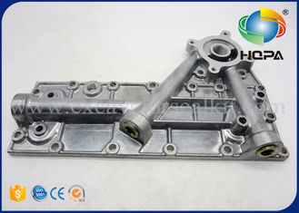 Komatsu PC200-6 PC200-5 Excavator Engine Parts Oil Cooler Cover Assy 6207-61-5210 For Engine 6D95