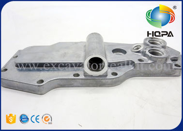 6D102 4D102 Komatsu Excavator Engine Parts PC200-7 6735-61-2220 Oil Cooler Cover Assy