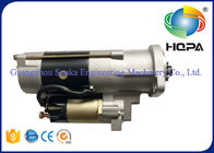 China M3T56174 M3T56183 Excavator Starter Motor 5.5KW With Metal Material , Silver Color company