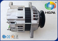 Metal Excavator Engine Parts For Sumitomo SH60 Isuzu 4jb1 Alternator 12V